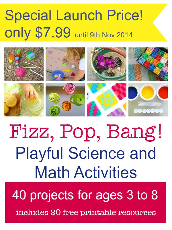 Fizz Pop Bang Playful Science and Math Activities on Sale for Only 7.99 until November 9th