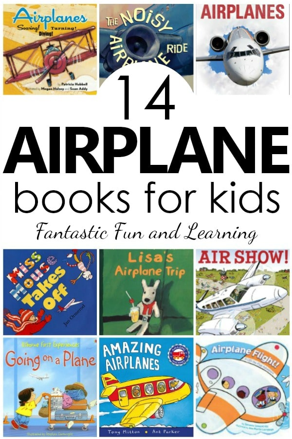 14 Favorite Airplane Books for Kids