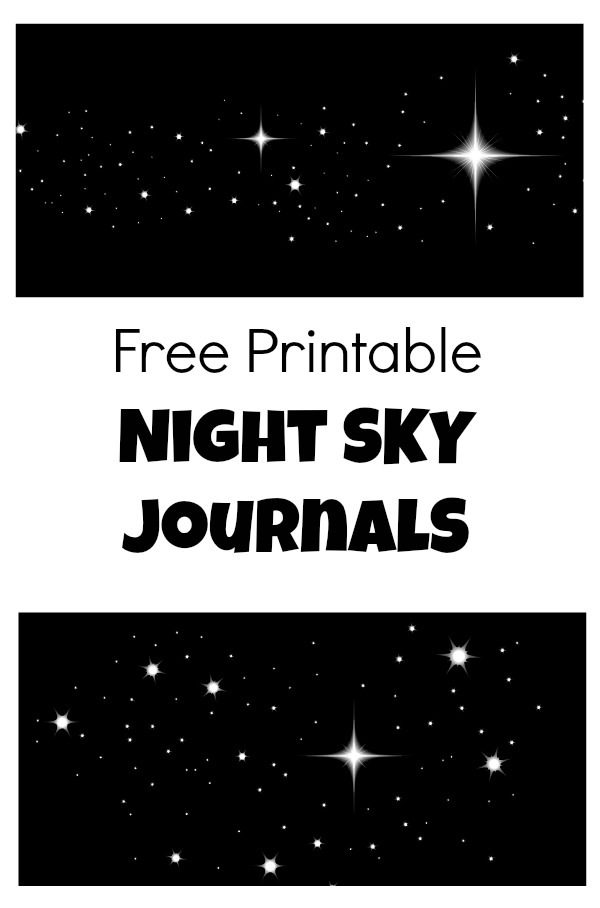 Free Printable Night Sky Journal