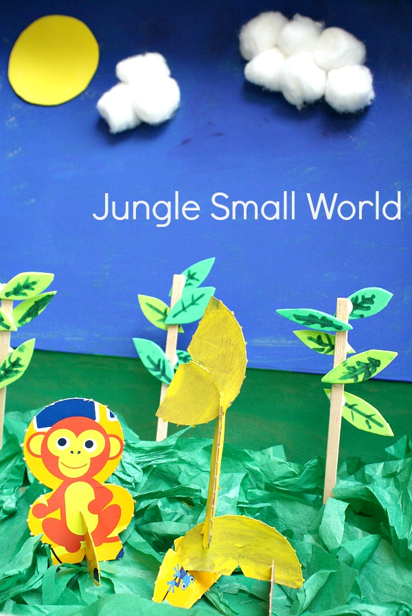 Jungle Small World with Kix Storybox characters #ad