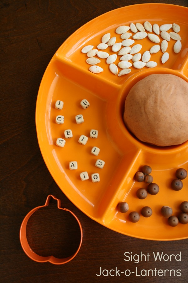 Sight Word Jack-o-Lanterns Halloween Activity