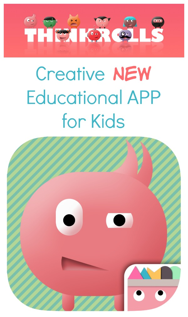 Thinkrolls~Creative new problem solving logic app for kids #sp