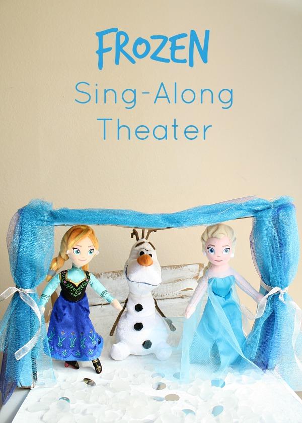 FROZEN Sing-Along Pretend Play Theater