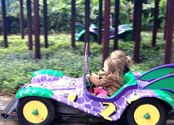 Busch Gardens Rides for Kids