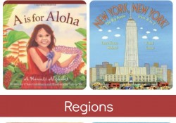 American ABC Books-Alphabet books about US cities, states and regions