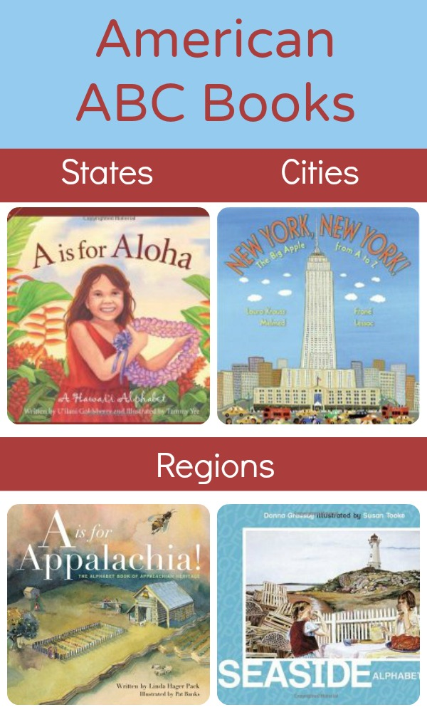 American Places ABC Books