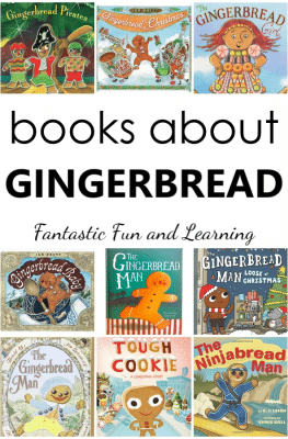 Gingerbread Man Books for Kids. Favorite gingerbread books for preschool or kindergarten gingerbread theme