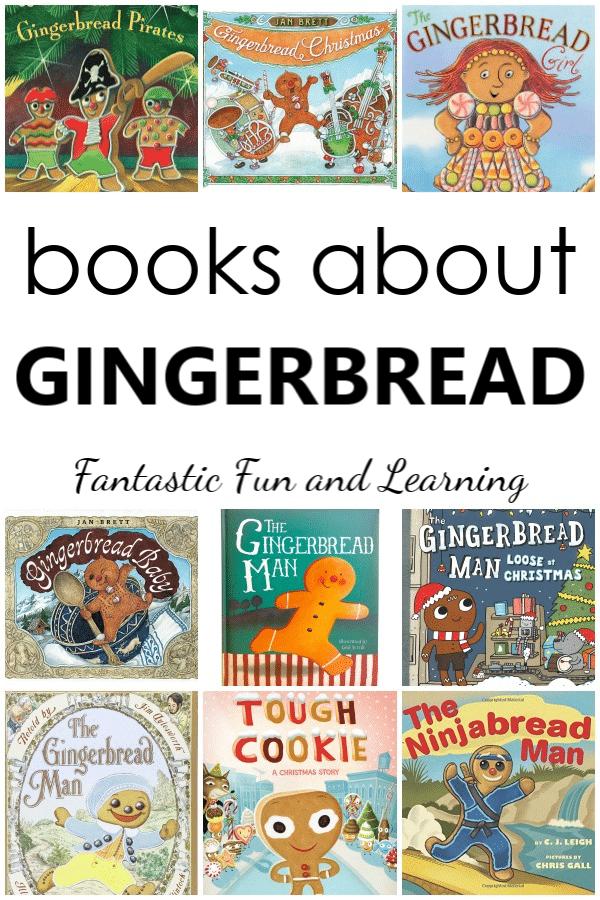 Gingerbread Man Books for Kids. Favorite gingerbread books for preschool or kindergarten gingerbread theme