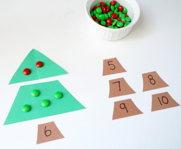 Christmas Tree Addition Activity