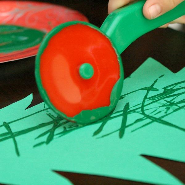 Christmas Tree Craft~Painting