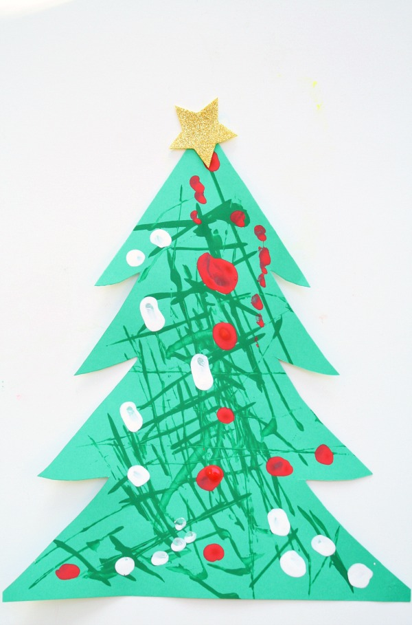 easy christmas tree craft - Easy Christmas Tree