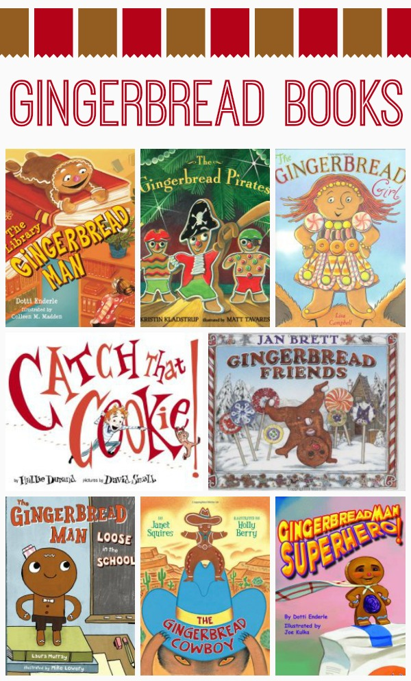 Gingerbread Man Books for Kids