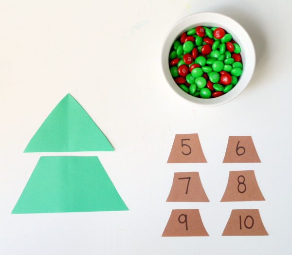 Holiday Math Game for Kids~Addition