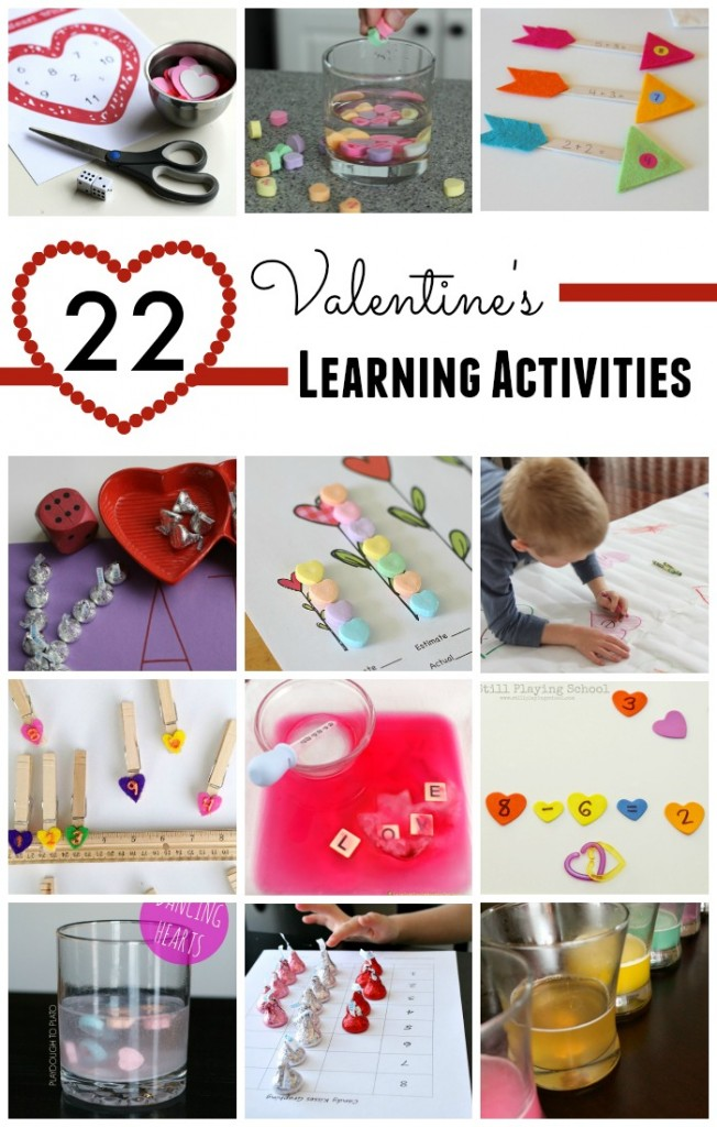 22 Valentine's Day Learning Activities for Kids