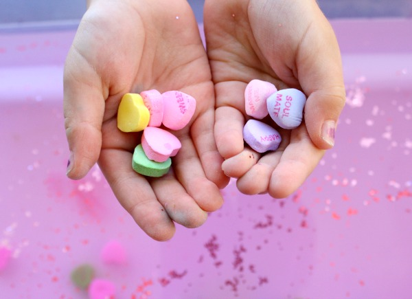 Candy Heart Valentine's Day Activity