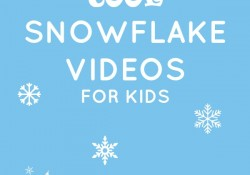 Cool Snowflake Videos for Kids