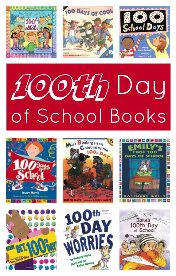 Fun books to read as you count down to and celebrate the 100th Day of School