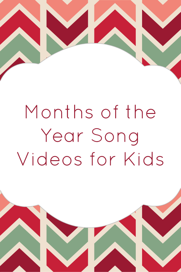 Months of the Year Song Videos for Kids