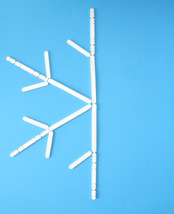 Snowflake Symmetry Winter Math Activity