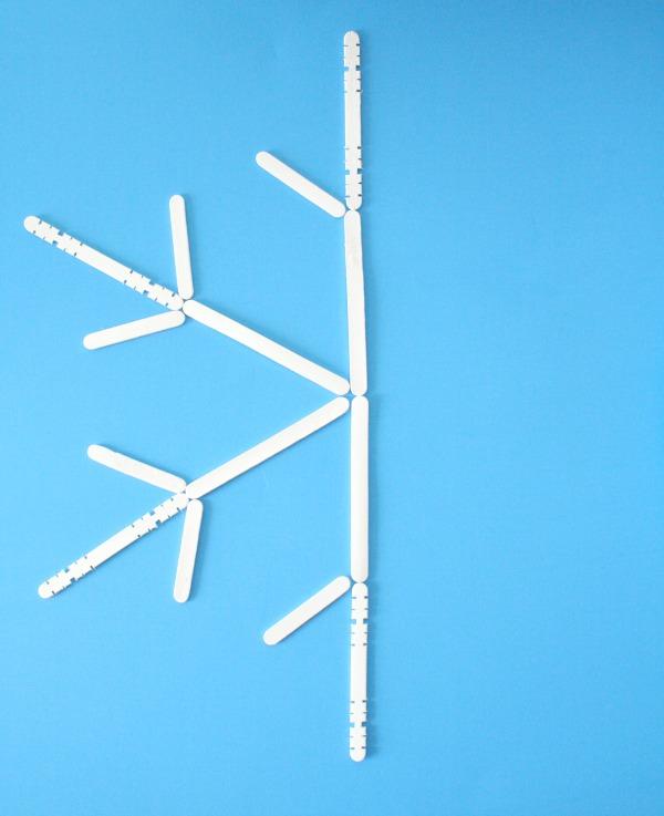 Snowflake Symmetry Winter Math Activity