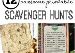 Free Printable Scavenger Hunts for Kids