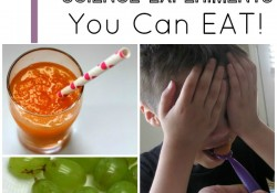Fun Taste Test Science Experiments for Kids