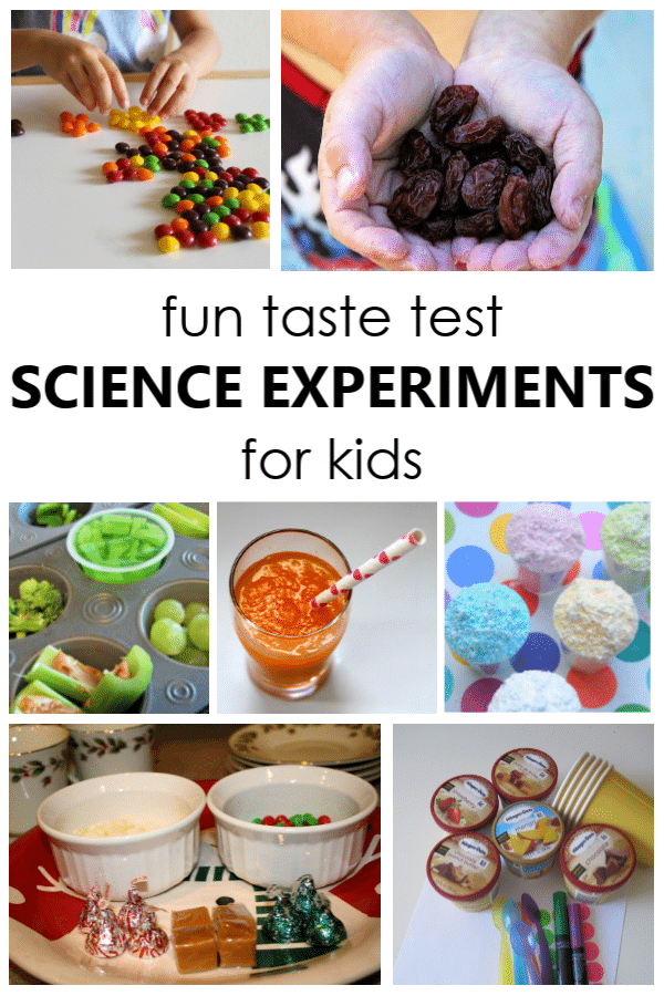 15 Science Experiments You Can Eat~Learn, Play and Eat with these fun science investigations for kids