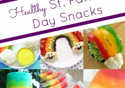 Healthy Rainbow St. Patrick's Day Snacks