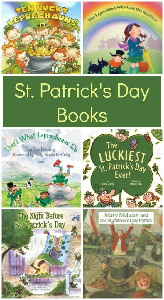 St. Patrick's Day Books~10 fun books to fill your day with rainbows, leprechauns and pots of gold