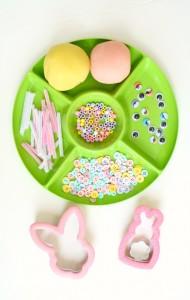 Bunny Play Dough Invitation