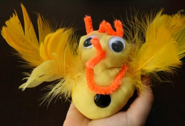 Chick kindergarten activity