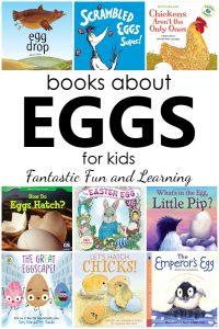 Fiction and Nonfiction Books About Eggs