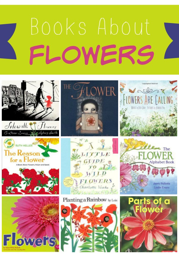 Books About Flowers
