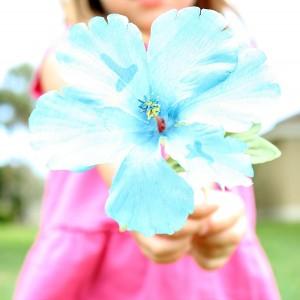 Letter flowers for preschool alphabet activity