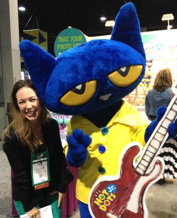 Pete the Cat at EDexpo