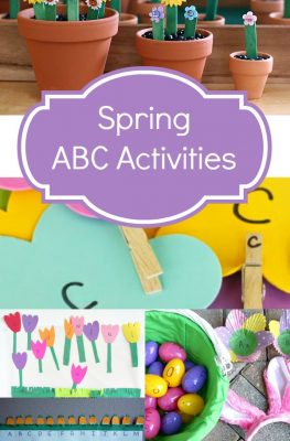 Spring ABC Activities