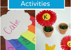 Spring Name Activities for Kids