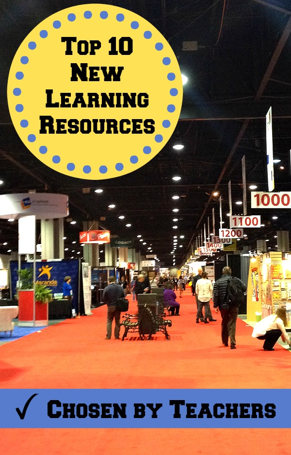 Top 10 New Learning Resources and Educational Toys Chosen by Teachers at EDexpo2015