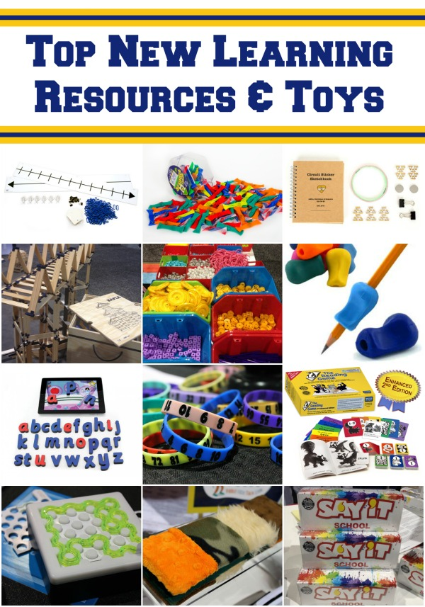 Top New Learning Resources and Toys Chosen by Teachers at EDexpo2015