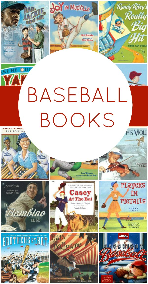 Baseball Books~ 19 great books that look at the history of baseball and others that tell great stories about the game