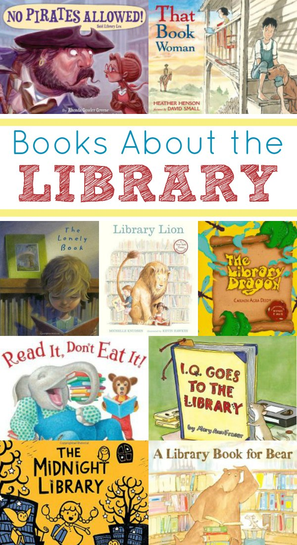 Children's Books About the Library
