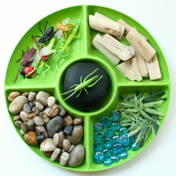 Materials for Bug Play Dough