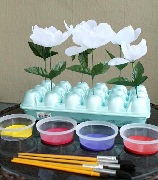 Spring Art Invitation for Kids