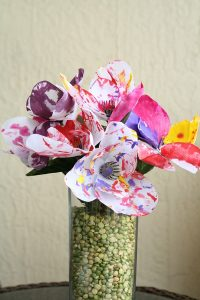 Spring Flower Art for Kids