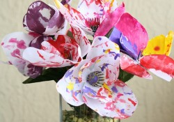 Painted Spring Flower Craft
