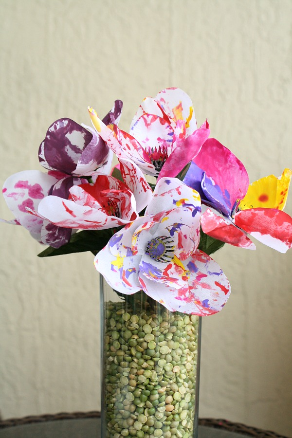 Spring Flower Art for Kids