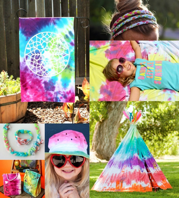 Awesome Summer Tie-Dye Tutorials