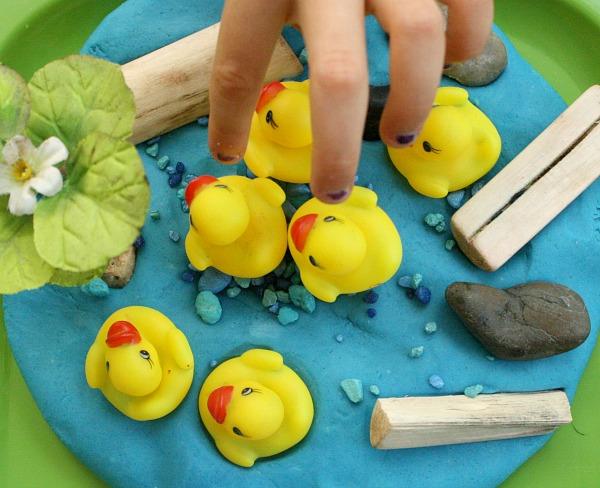 Duck Fine Motor Play