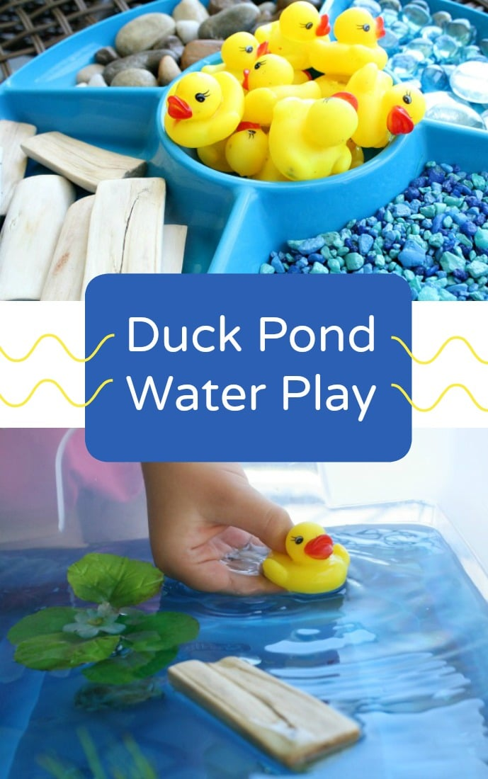 Duck Pond Sensory Play - Fantastic Fun & Learning