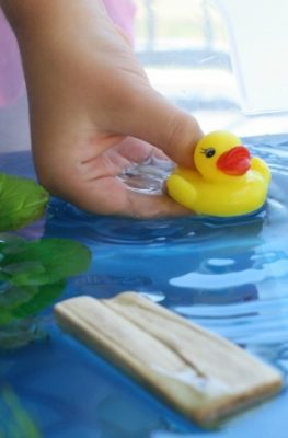 Duck Pond Sensory Play